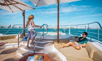 Lumiere yacht charter Benetti Motor Yacht