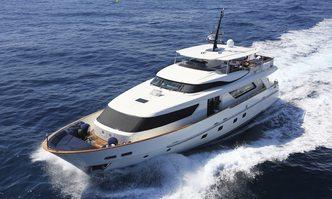 Mia Rocca IX yacht charter Sanlorenzo Motor Yacht