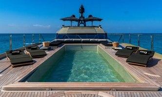 DB9 yacht charter Palmer Johnson Motor Yacht