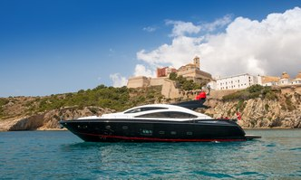Palumba yacht charter Sunseeker Motor Yacht