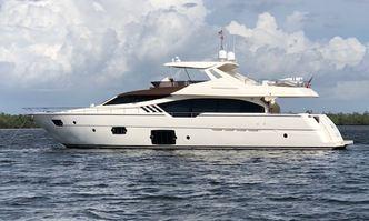Top Shelf yacht charter Ferretti Yachts Motor Yacht