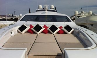 White Pearl yacht charter Leopard Motor Yacht