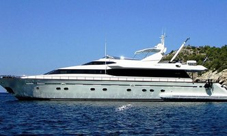 Falcon Island yacht charter Falcon Motor Yacht
