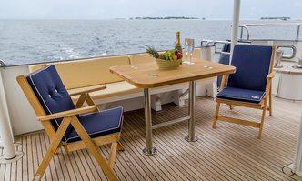 Fantom yacht charter Flagman Yachts Motor Yacht