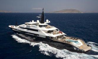 Alfa Nero yacht charter Oceanco Motor Yacht