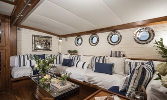 Alexa of London yacht charter Y.B.M. Sail Yacht