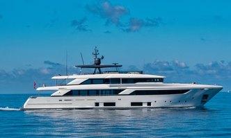 Sangha yacht charter Custom Line Motor Yacht