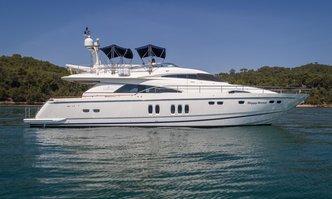 Happy Dream yacht charter Fairline Motor Yacht