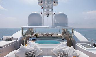 Hurricane Run yacht charter Feadship Motor Yacht