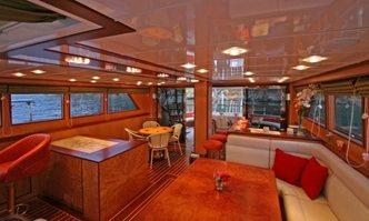 Serenity 86 yacht charter Mural Yachts Motor/Sailer Yacht