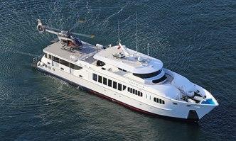 Tango yacht charter Austal Motor Yacht