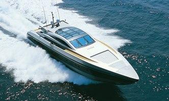 High Roller yacht charter Baglietto Motor Yacht