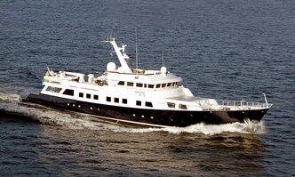 Aga 6 yacht charter Nylen Motor Yacht