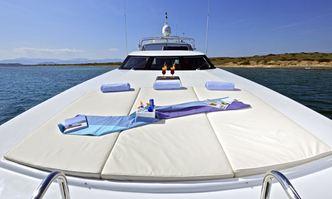 Helios yacht charter Falcon Motor Yacht