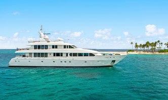 Just Sayin' yacht charter Trident Motor Yacht