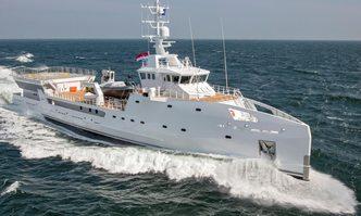Game Changer yacht charter Damen Yachting Motor Yacht
