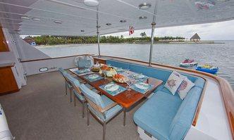 Afterglow yacht charter Christensen Motor Yacht