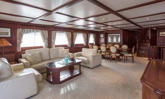 Gihramar yacht charter Custom Line Motor Yacht