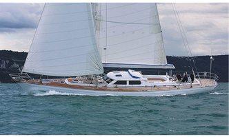 Plum yacht charter Custom Sail Yacht