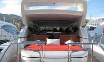 Lorelei yacht charter Overmarine Motor Yacht