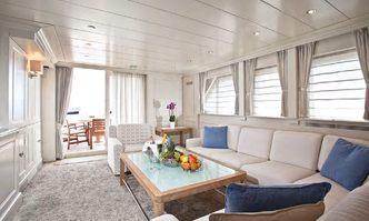 Harmonya yacht charter Benetti Sail Division Motor Yacht