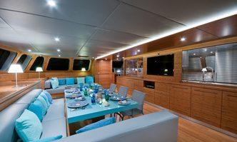 Che yacht charter Sunreef Yachts Sail Yacht
