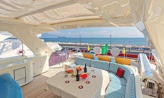 Anne Marie yacht charter Custom Line Motor Yacht