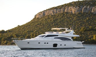 Dominique yacht charter Ferretti Yachts Motor Yacht