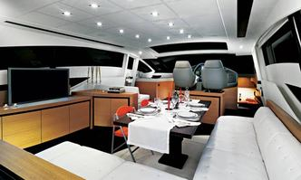 Angels and Demons yacht charter Pershing Motor Yacht
