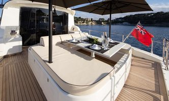Saga One yacht charter Leopard Motor Yacht