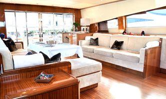 Ose yacht charter Leopard Motor Yacht