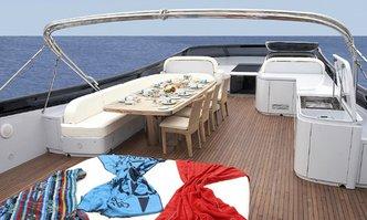 Glaros yacht charter Maiora Motor Yacht