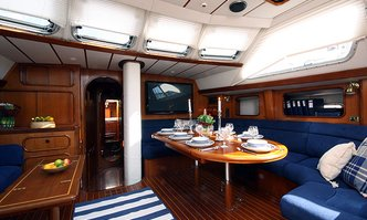 Ocean Indies II yacht charter Oyster Yachts Sail Yacht