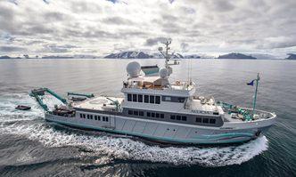 Alucia yacht charter Auroux Motor Yacht