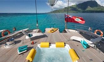 Mondango 3 yacht charter Alloy Yachts Sail Yacht
