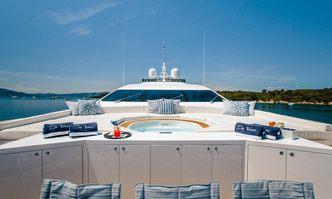 Da Vinci yacht charter Overmarine Motor Yacht