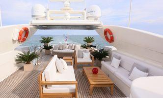 Blosson yacht charter Astondoa Motor Yacht