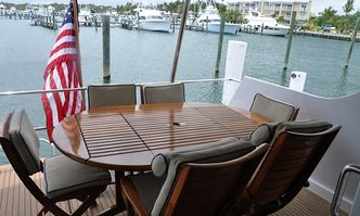 Island Girl yacht charter Hatteras Motor Yacht