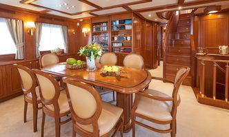 Imagine yacht charter Custom Line Motor Yacht