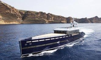 Blade II yacht charter MMGI Shipyard Motor Yacht