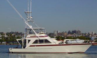 Osprey yacht charter Custom Motor Yacht