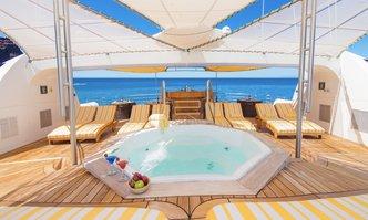 Petrel yacht charter Custom Motor Yacht