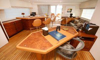 Ladyship yacht charter Heesen Motor Yacht
