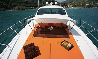 Aspra 38 yacht charter Overmarine Motor Yacht