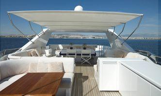 Feligo V yacht charter Cantieri di Pisa Motor Yacht