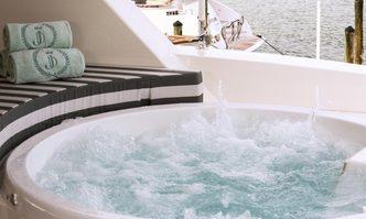 Rich Guys Nickel yacht charter Johnson Yachts Motor Yacht