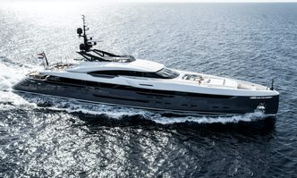 Utopia IV yacht charter Rossinavi Motor Yacht