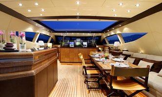 Samira yacht charter Overmarine Motor Yacht