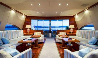 Kidi One yacht charter Leopard Motor Yacht