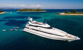 Brazil yacht charter Heesen Motor Yacht
